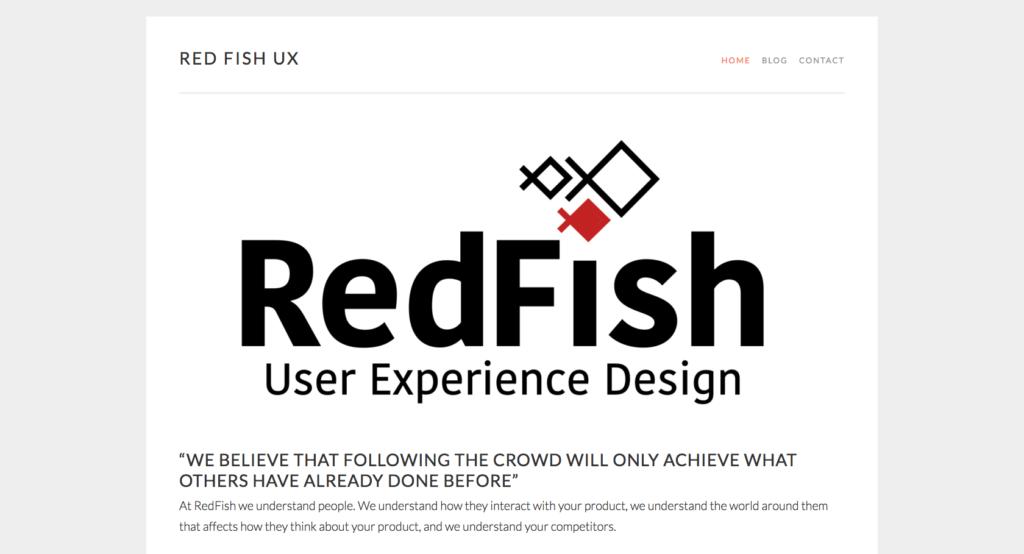 Redfish UX